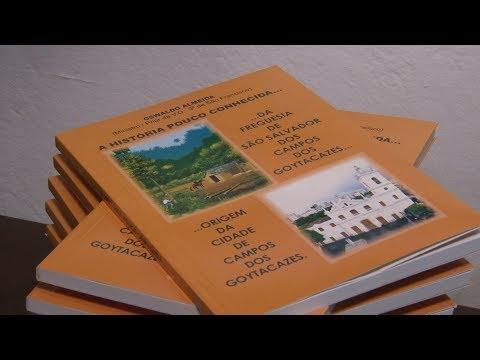 Livro revela a história da Freguesia de São Salvador dos Campos dos Goytacazes
