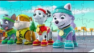 Пазлы Щенячий патруль. Puzzle PAW Patrol Video Game for Kids