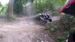 Rolka - Kulanka nr 1 na Polskim YT! - Yamaha Raptor 700R Crashed