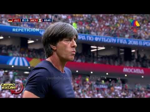 México vs Alemania - Copa del mundo 2018 (partido completo ) Tv Azteca HD