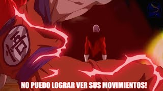 GOKU COMBINA EL SAIJAYIN DIOS Y EL KAYOKEN - GOKU VS JIREN Y DISPO -  DRAGON BALL SUPER