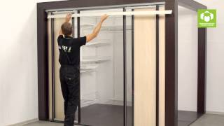 Подвесные перегородки (двери) ARISTO. Система 4 в 1(, 2014-12-05T12:58:13.000Z)