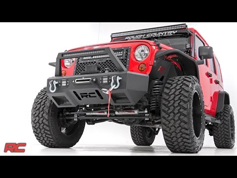 2007-2017 Jeep Wrangler Unlimited JKU 3.5-inch Suspension Lift Kit by Rough Country