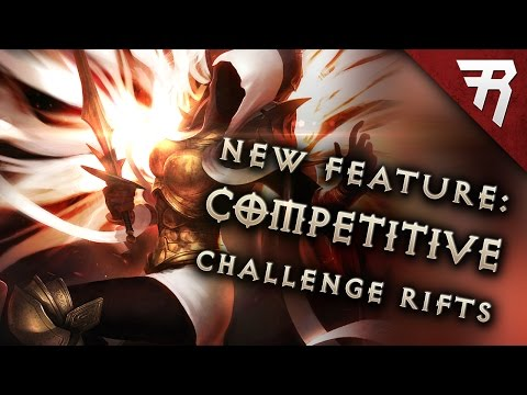 NEW FEATURE: Challenge Rifts! (Diablo 3 2.6 Season 11 beta guide)