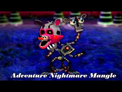 Fnaf Speed Edit Making Adventure Nightmare Mangle