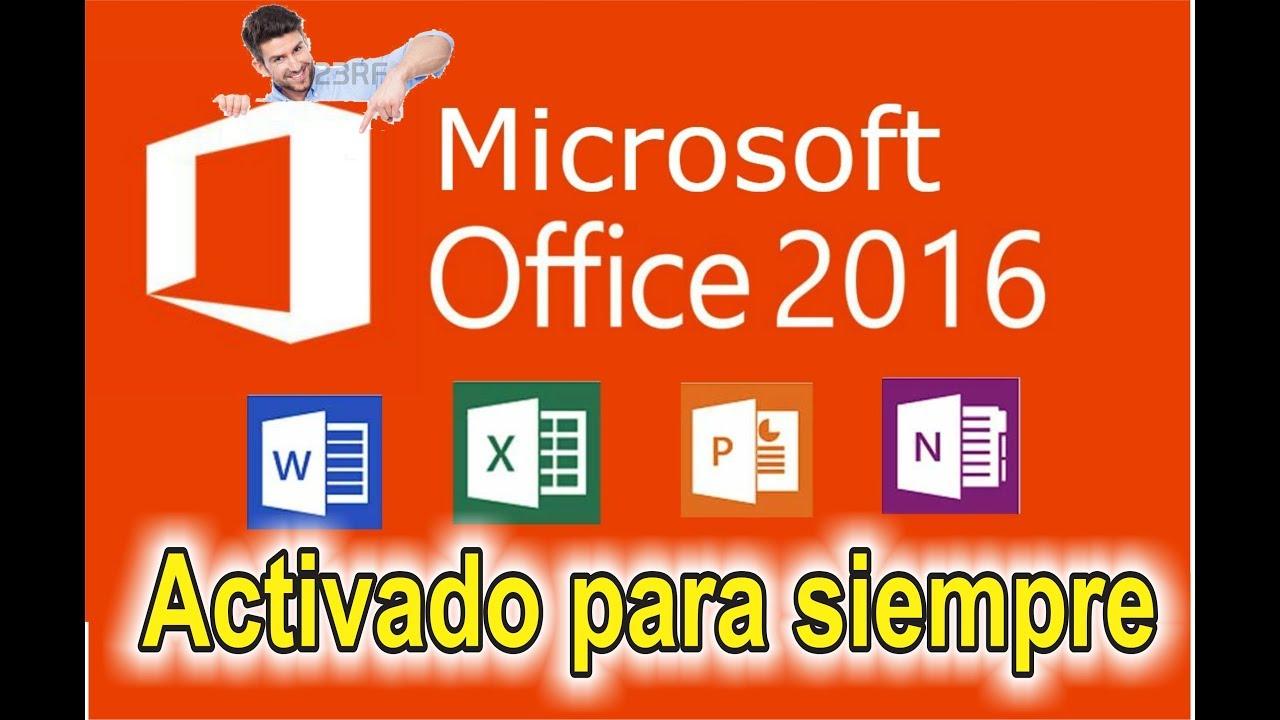 OFFICE 2016 FULL EN ESPAÑOL+ACTIVADOR DE POR …
