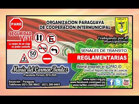 Señales de Tránsito - REGLAMENTARIAS