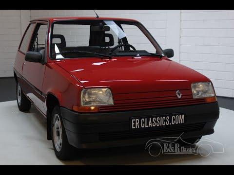 Renault 5 Supercinq 1993 Original Top Condition -VIDEO- Www.ERclassics.com