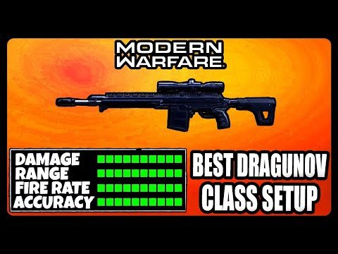 NEW OVERPOWERED DRAGUNOV CLASS SETUP IN MODERN WARFARE! BEST DRAGUNOV CLASS SETUP!