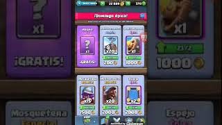 in an opening chests (clash royale)