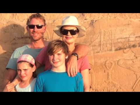 Bodle Family Trip to Egypt - The Golden Scarab -- Ray Manzarak