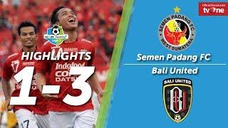 Semen Padang FC Vs Bali United: 1-3 All Goals & Highligts