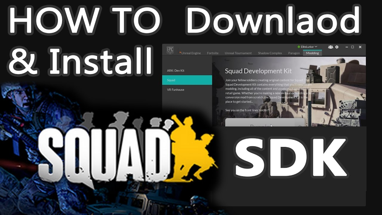 Squad SDK: Download and Install