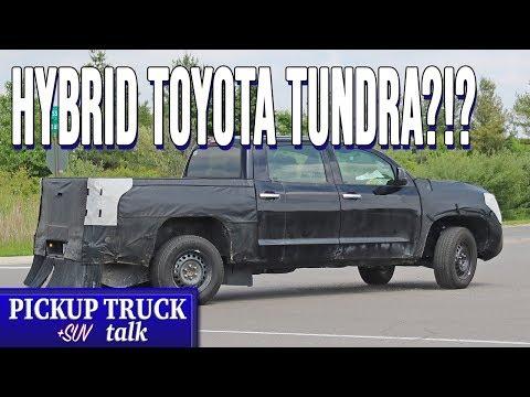 2021 Toyota Tundra Will Get a Hybrid Powertrain