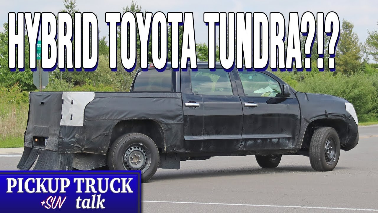 Hybrid V6, 30 MPG Target? 2021 Toyota Tundra Spied Testing ...
