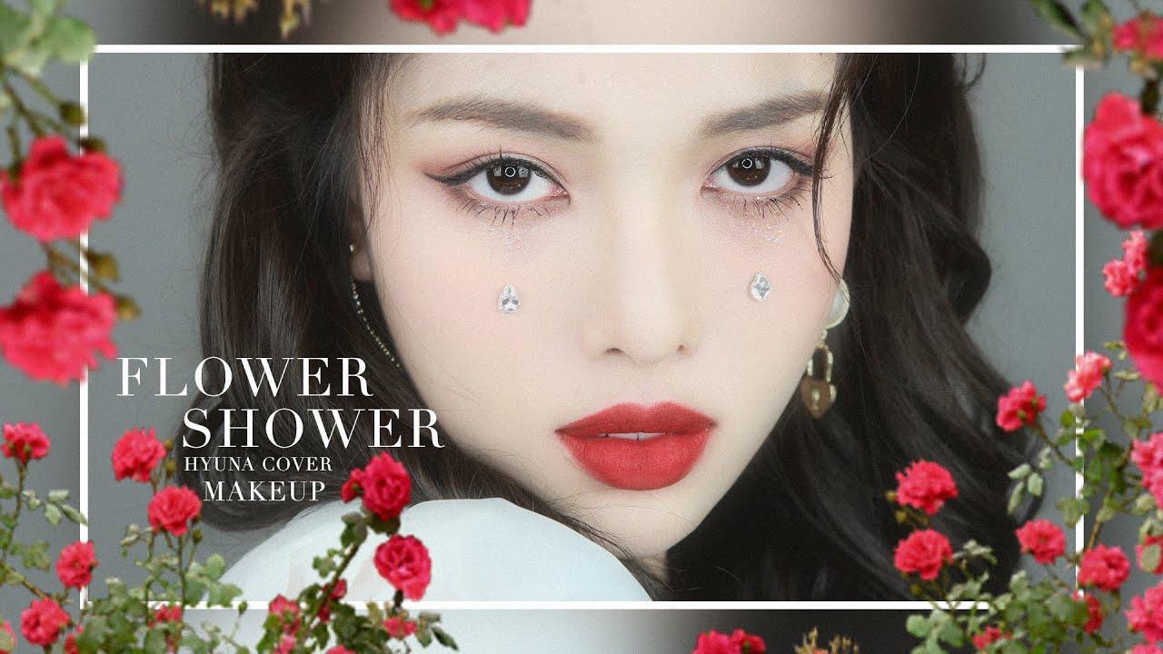 🌺 현아 HYUNA - FLOWER SHOWER  🌺  Makeup Look Tutorial    by Phát Phát