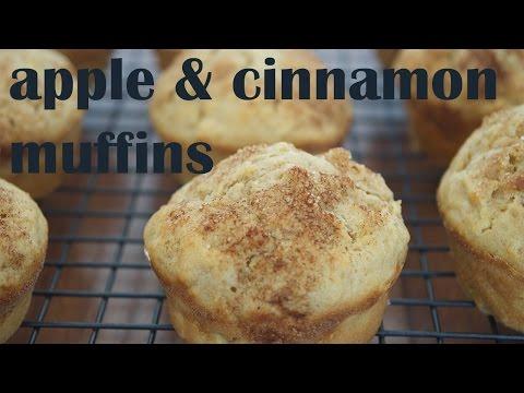 Apple and Cinnamon Muffins   Basic Baking