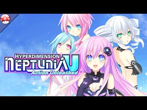Hyperdimension Neptunia U: Action Unleashed Gameplay #2 (PC HD) |