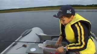 Лещ на фидер с лодки. День второй.