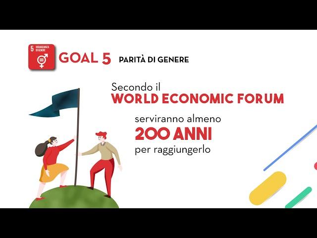 SDG's Goal 5: Uguaglianza di genere