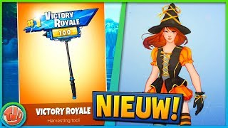 LEGENDARY HARVESTING TOOL & NIEUWE SKINS!! - Fortnite: Battle Royale