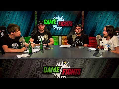 Game Fights #4 mit Colin, Trant, Tim & Andy