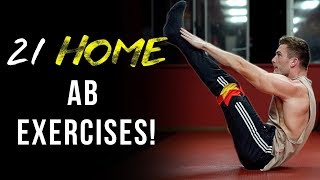 21 Six Pack Ab Exercises You Can Do From Home