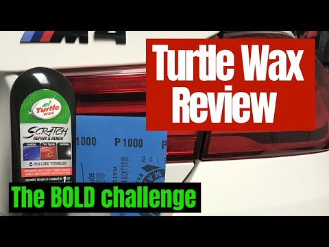 Turtle Wax Scratch Remover Repair: Remove 1000 Grit Sanding Marks. The BIG, Bold Claim!!