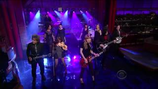 Taylor Swift ,HD,  Red , Live David Letterman's Late Show,HD 720p