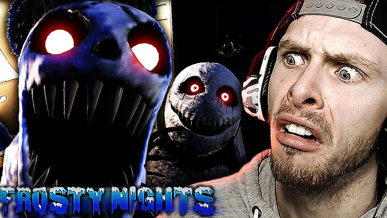 HELLISH SNOWMEN COME TO PLAY! | Frosty Nights Gameplay! FNAF Style Game – Part 2