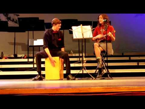 All I Want For Christmas by Maddy and Bryce (Ukulele/Box Drum)