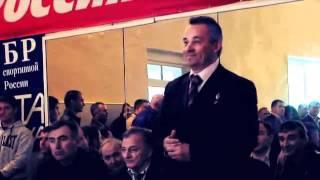 Главный тренер сборной России по вольной борьбе Осетин Джамболат Тедеев едет в Осетию
