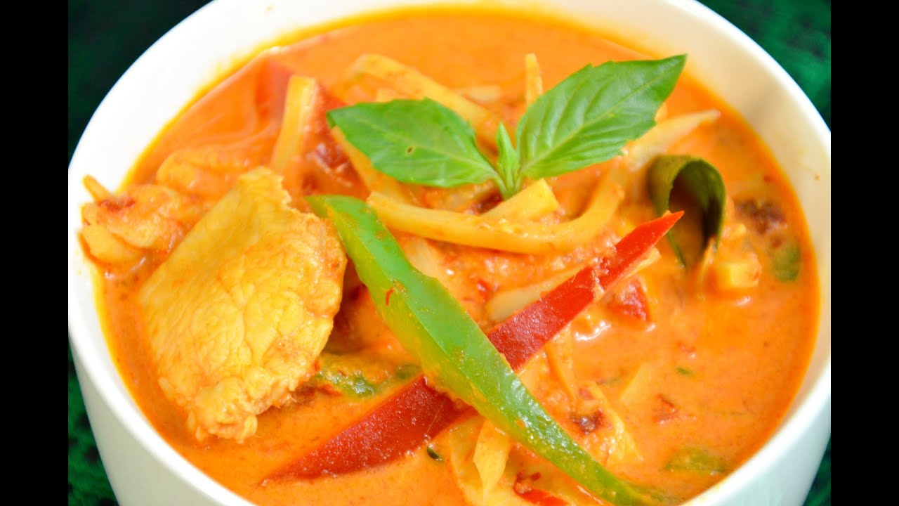 How to make thai red curry youtube for Best thai red curry
