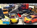 GTA 5 - Secret Hidden and Rare Cars Location! PC, PS4, PS3 & Xbox One