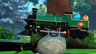 TOY TRAIN #1 #2 #3 FULL EPISODE | Cam & Leon | Cartoon for Kids | Funny Cartoon