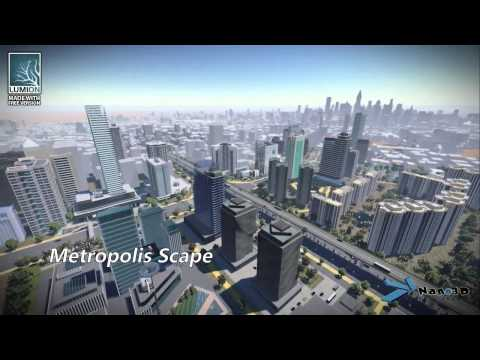 From 3D model to architectural visualization by Nano 3D Virtual Studio