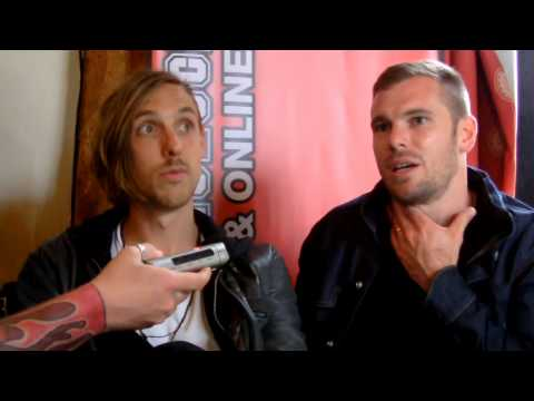Calling All Cars Interview Sonisphere Festival 2014