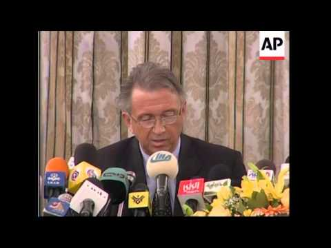 UN envoy says Syria to withdraw by April 30