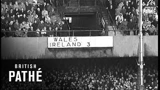 Ireland Draw With Wales (1962)