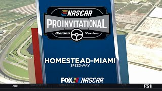 eNASCAR 2020 IRacing Pro Invitational Homestead Miami FS1 HDTV x264 720 [Virtual]