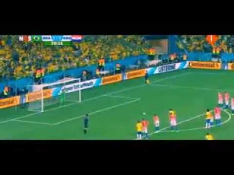 Fred simulation  Brazil - Croatia - World Cup 2014