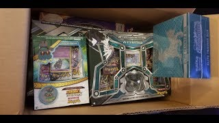 Huge box opening!  Ultra Beast GX, Umbreon GX,SivallyGX, secret rare!