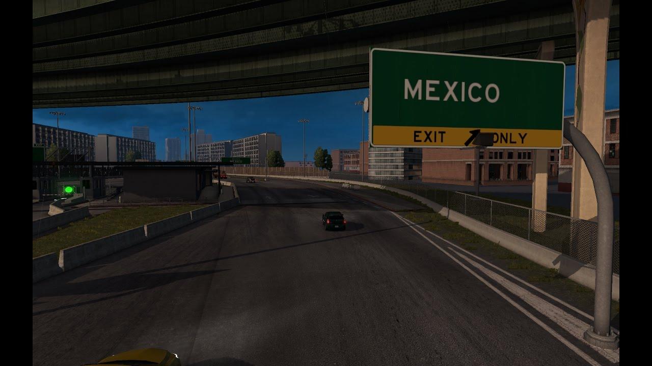 American Truck Simulator   new map