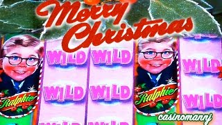 MERRY CHRISTMAS! - GLORIOUS BIG WIN! LOL - Slot Machine Bonus