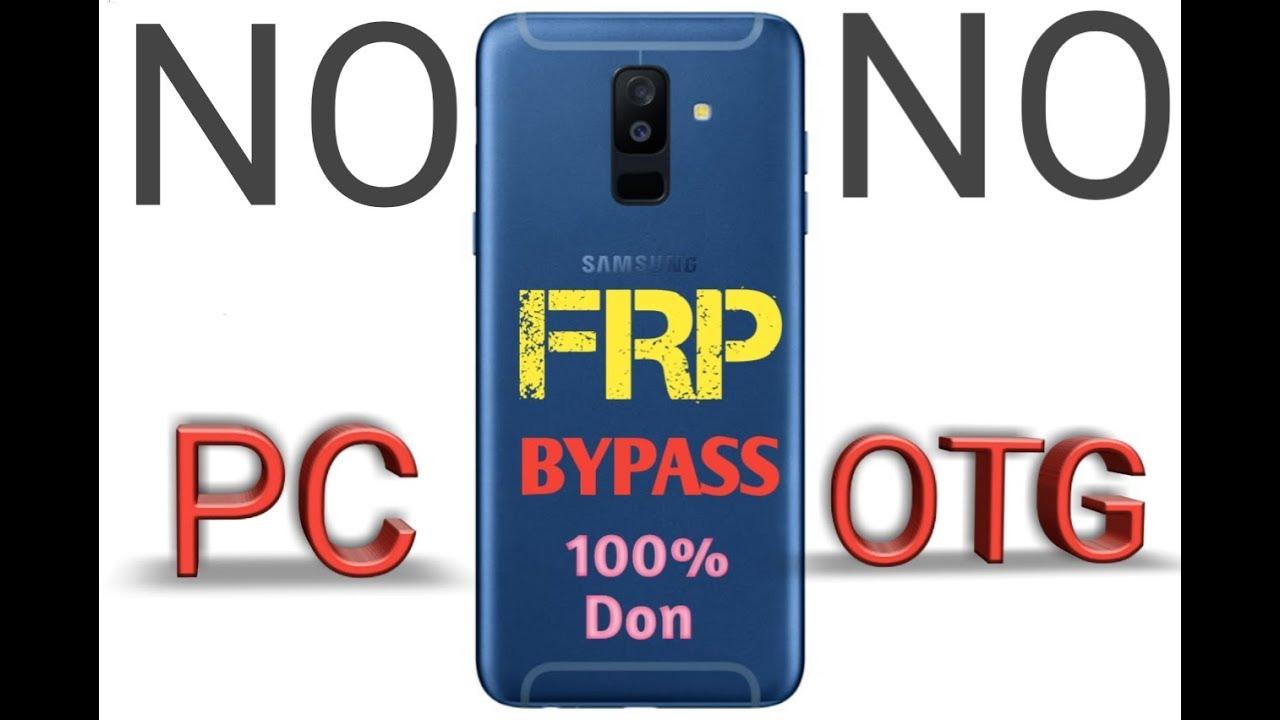 Unlock Bypass Google Account FRP Lock Samsung A6 A600F A6+ A605F A605G OK