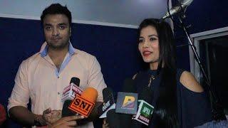 भौजी पटनिया bhojpuri film muhurat - सीमा सिंह और आकाश सिंह exclusive interview 2017