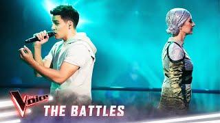 The Battles: Jesse Teinaki vs Natasha Stuart 'Giant' | The Voice Australia 2019