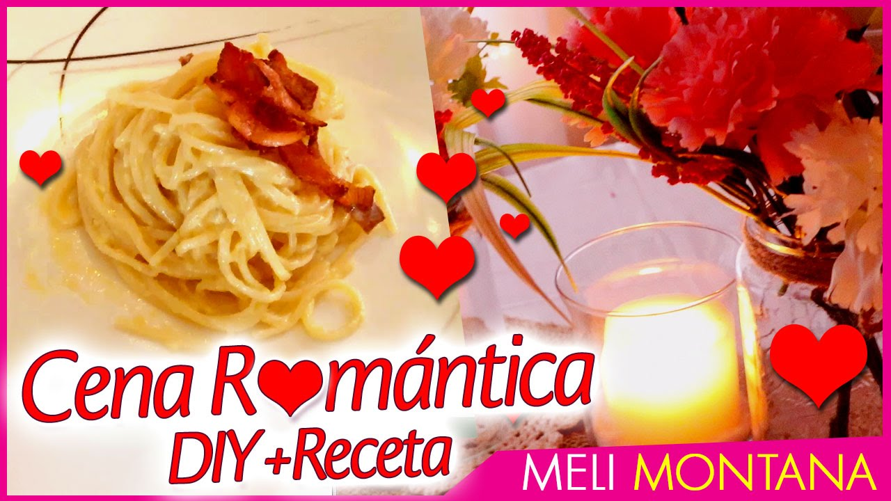 C mo hacer una cena romantica decoraci n men meli for Cena ligera y romantica