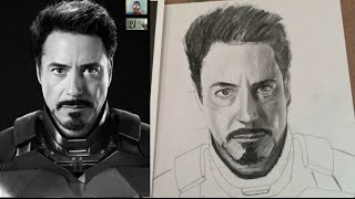 How To Draw Iron Man Easiest Step By Step