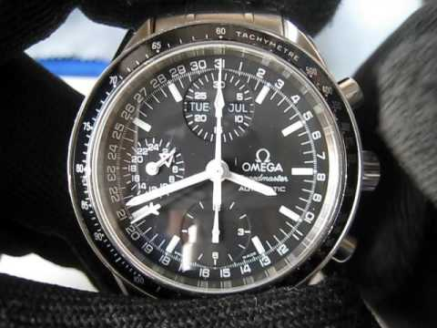 4ed7a1ac0e7 Omega Speedmaster Mark40 Day Date Month 24H Chronograph Watch Cosmic  3520.50 Function Testing